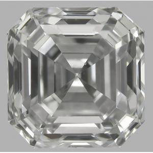 Asscher 0.90 carat F VS2 Photo