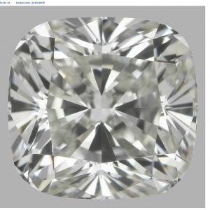 Cushion 0.90 carat J VS2 Photo