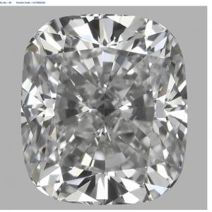 Cushion 0.70 carat D VS1 Photo