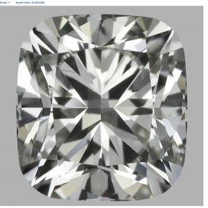 Cushion 1.01 carat J VS1 Photo