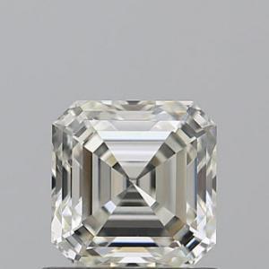 Asscher 0.77 carat K VS1 Photo