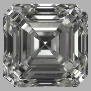 Asscher 0.90 carat H VS2 Photo