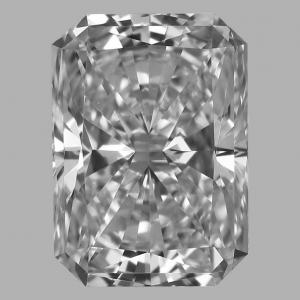 Radiant 0.50 carat E VS1 Photo