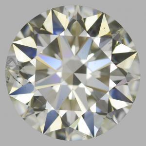Round 2.53 carat L SI1 Photo