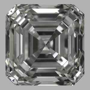 Asscher 0.71 carat J VS1 Photo