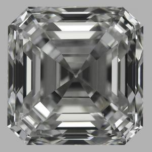 Asscher 1.01 carat H VS1 Photo