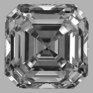Asscher 0.70 carat G VS1 Photo