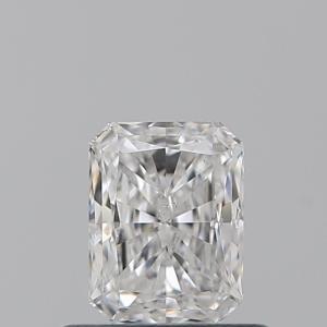 Radiant 0.50 carat D SI1 Photo