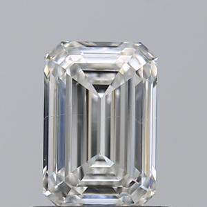 Emerald 0.71 carat F SI1 Photo