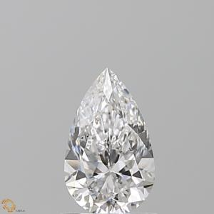 Pear 0.90 carat D SI2 Photo