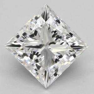 Princess 0.90 carat F SI1 Photo
