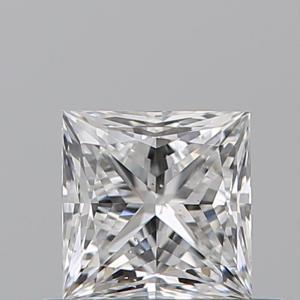 Princess 0.50 carat D SI1 Photo