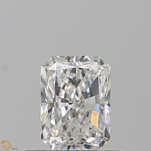 Radiant 0.52 carat E VVS2 Photo