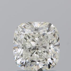 Cushion 1.55 carat J SI1 Photo