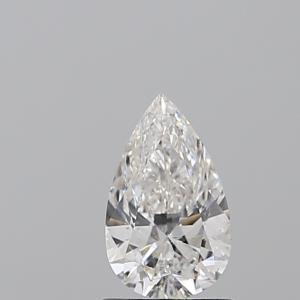 Pear 0.90 carat E SI1 Photo