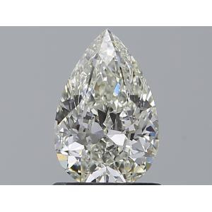 Pear 0.90 carat J VS2 Photo