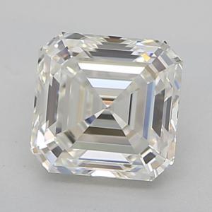 Asscher 0.50 carat I IF Photo