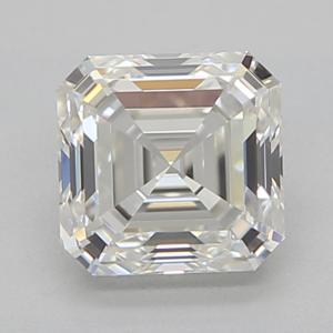 Asscher 0.51 carat H VVS2 Photo