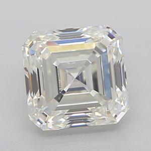Asscher 0.51 carat I VVS2 Photo