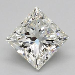Princess 0.70 carat K SI1 Photo