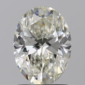 Oval 1.25 carat J VVS1 Photo