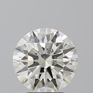 Round 2.52 carat L SI2 Photo