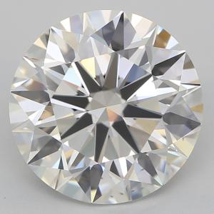 Round 2.56 carat H VS2 Photo