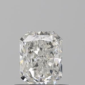 Radiant 0.52 carat G SI1 Photo