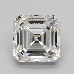 Asscher 0.98 carat G VS2 Photo