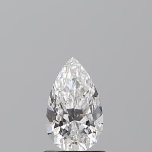 Pear 0.82 carat D VS2 Photo