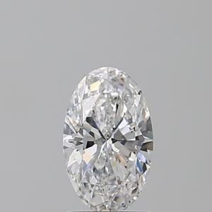 Oval 1.23 carat D SI1 Photo