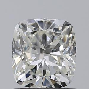 Cushion 1.01 carat J SI1 Photo