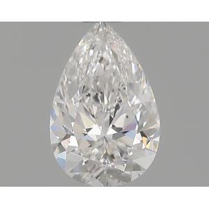 Pear 0.80 carat E SI1 Photo