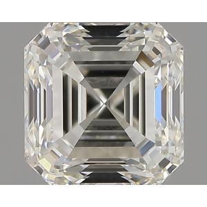 Asscher 0.90 carat J SI1 Photo