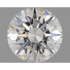 Round 1.65 carat H VS2 Photo