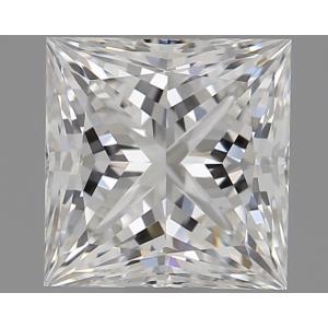 Princess 0.73 carat G VS1 Photo