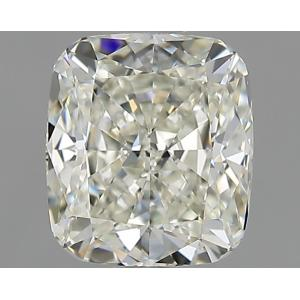 Cushion 1.00 carat J VVS1 Photo