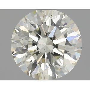 Round 0.90 carat K SI2 Photo