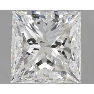 Princess 1.00 carat J SI1 Photo
