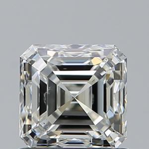 Asscher 1.01 carat J SI1 Photo
