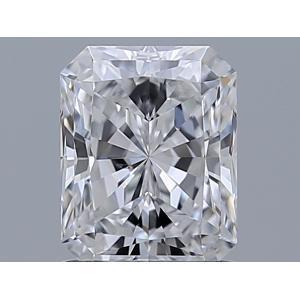 Radiant 1.01 carat D SI1 Photo