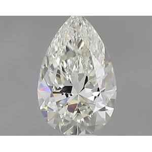 Pear 0.30 carat J VS2 Photo