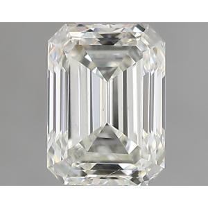 Emerald 0.30 carat J SI1 Photo