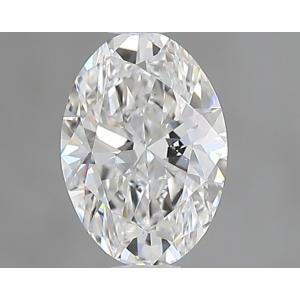 Oval 0.33 carat E VS1 Photo