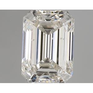 Emerald 0.33 carat I SI2 Photo