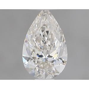 Pear 0.30 carat I SI1 Photo