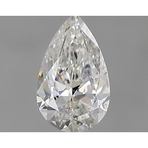 Pear 0.30 carat F SI2 Photo