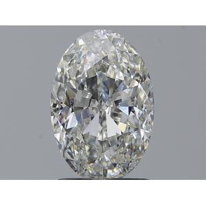 Oval 1.50 carat H SI1 Photo