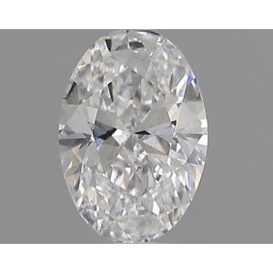 Oval 0.30 carat D VS2 Photo