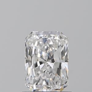 Radiant 1.00 carat D IF Photo